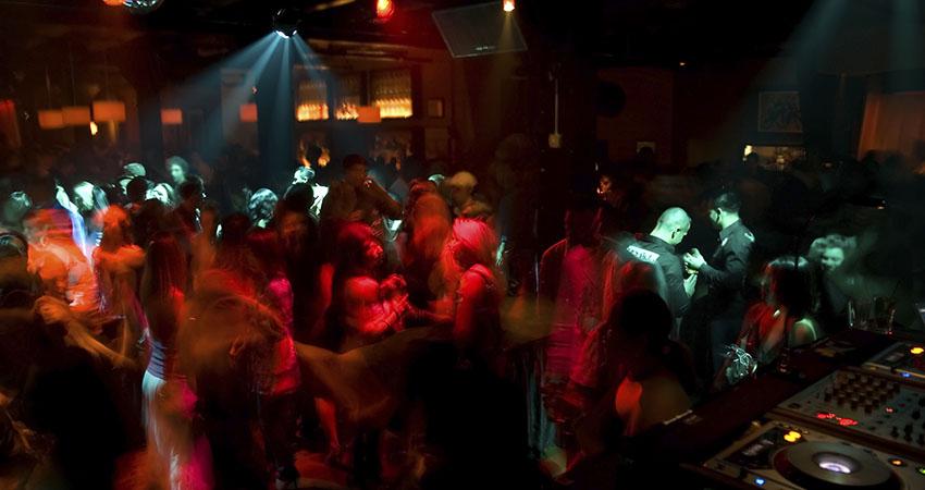 Nightclub Dance Crowd